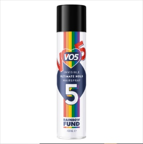VO5 Pride Limited Edition Hairspray 400ml